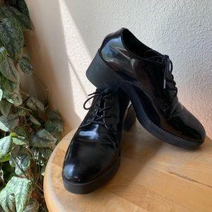 Shoes - Black Platform Shoes